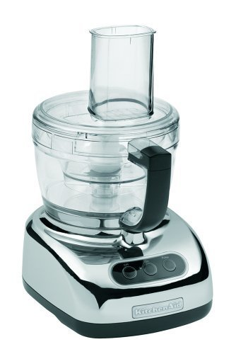 Where to Buy KitchenAid KFP740CR 9-Cup Food Processor with 4-Cup Mini Bowl, Chrome | Cheap Food processors | food Processors | Scoop.it