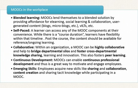 ID and Other Reflections: MOOCs in the Workplace and Heutagogy | Continuing education | Scoop.it