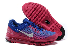 Nike Air Max 2013 Hyper Blue Summit White Pink Force Womens Shoes | my style | Scoop.it