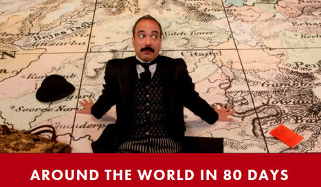 Houston, Texas : Alley Theatre presents Around the World in 80 days | Jules Verne News (english) | Scoop.it