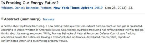 Remote Login | Fracking | Scoop.it