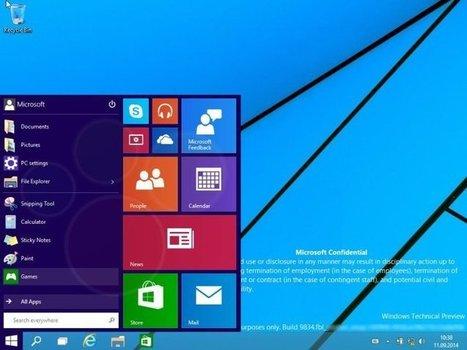Windows 9 : dix premières captures d'écran | Technologies & web - Trouvez votre formation sur www.nextformation.com | Scoop.it