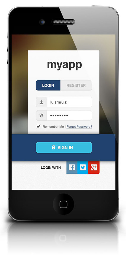 50 Useful UI Design Free PSD Files | design | Scoop.it