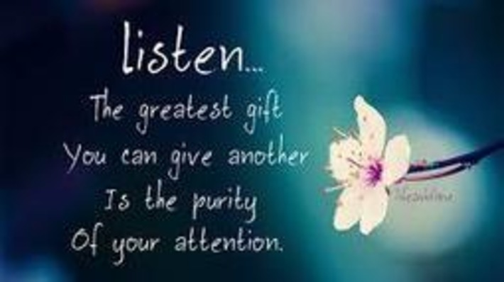 Give the Gift of Listening - People Development Network | Coaching Leaders | Scoop.it