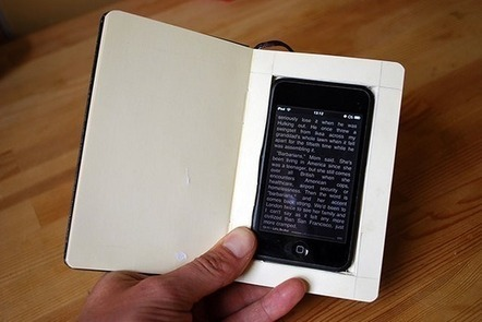 Smartphone size no obstacle to long reading | Pobre Gutenberg | Scoop.it
