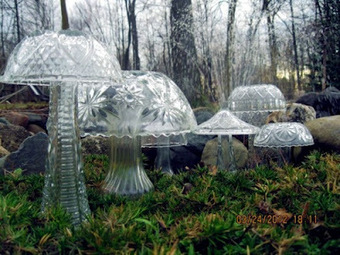 Crystal mushrooms for your garden | Shabby chic | Scoop.it