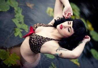 Inked Girls Gallery 80 – The Miss Caine Edition | Rockabilly | Scoop.it
