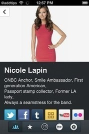 Create A Personal Online Profile Page With about.me For iPhone | Time to Learn | Scoop.it