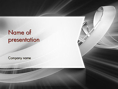 Abstract Gray Banner Presentation Template | Presentation Templates | Scoop.it
