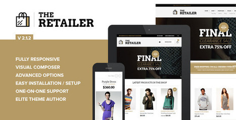 Download The Retailer v2.1.2 – Responsive WordPress Theme | SeoWpThemes.Com | Scoop.it