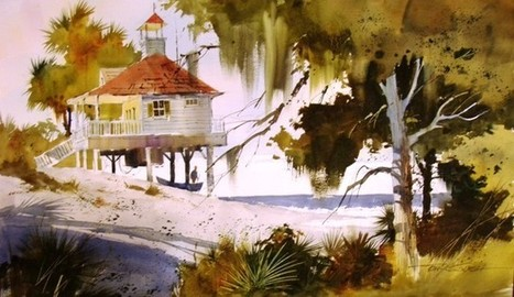 Techniques And Tips To Paint Beautiful Watercolor Paintings | Online Art Gallery | Scoop.it