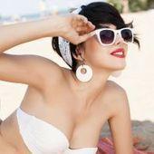 Maquillaje de playa: errores y aciertos para tu look en la arena - El Look de las Famosas | Tendencias en imagen personal | Scoop.it