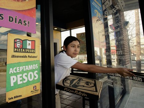 Pizza Chain That Markets To Mexicans Says New Promotion Isn't Profane | Spanish in the United States | Scoop.it