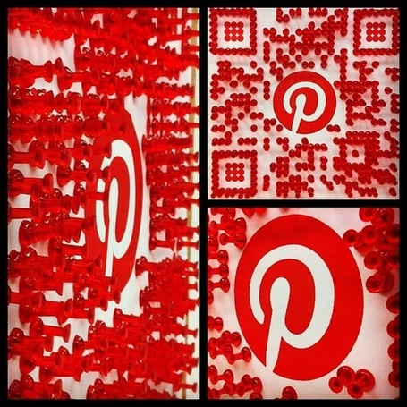 Pinterest QR code | artcode | Scoop.it