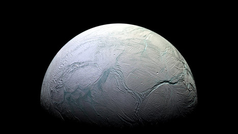 Saturn moon Enceladus' ice shell likely thinner than expected | Amazing Science | Scoop.it