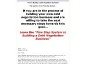 Five Step System - Debt Negotiation - Improve Credit Score Quickly | Business Communication Skills | Scoop.it