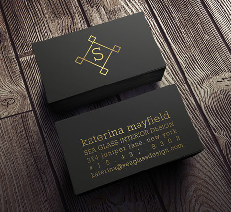 Shine Up Your Business Collateral with Metallic Ink | Smartpress.com | Branding & Marketing for Businesses | Scoop.it