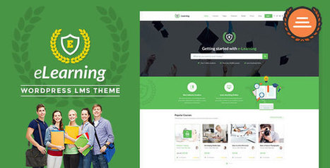 LMS WordPress Theme – eLearning WP v2.3.4 Free Nulled - Nulled Scripts | elearning stuff | Scoop.it