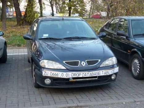 SQL Injection Fools Speed Traps and Clears Your Record | Hacking Wisdom | Scoop.it