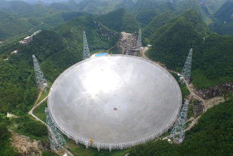 Fast, le plus grand radiotélescope du monde est entré en service - Spatial | Space business and exploration | Scoop.it