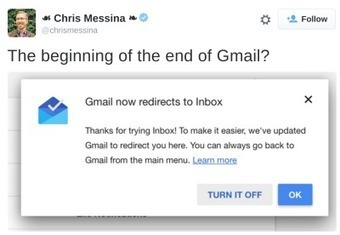 Google starts replacing Gmail by Inbox | digital marketing strategy | Scoop.it