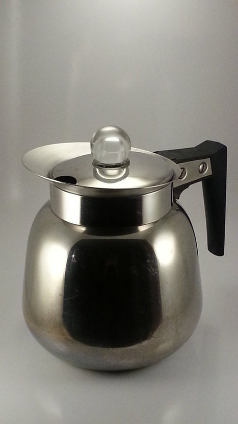 Vintage 1950s Nicro Percolator Coffee Pot Model 510 | AtomicVault.etsy.com | Scoop.it