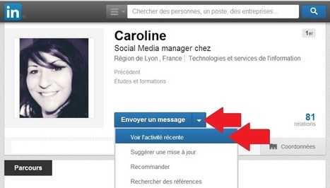 LinkedIn : savez-vous vous servir du nouveau bouton « Follow » ? | Going social | Scoop.it