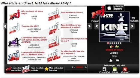 NRJ veut tirer profit de son pari numérique | A Kind Of Music Story | Scoop.it