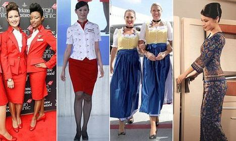 The flight attendant uniforms that have stirred up controversy | Aviation & Airliners | Scoop.it