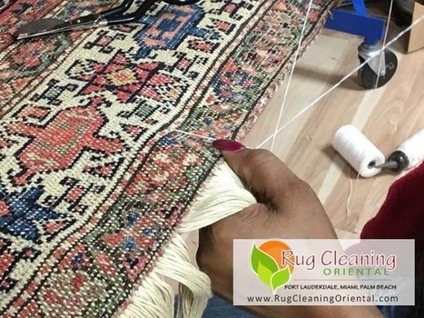 South Florida - Rug Repair and Restoration Services   Oriental Rug Care   Scoop.it
