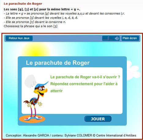 Jeu - Exercice - Les sons [g], [ʒ] et [ɲ] pour la même lettre « g ». - Partie 1 - Niveau - Elémentaire (A1) - FLE - Gratuit | FLE enfants | Scoop.it
