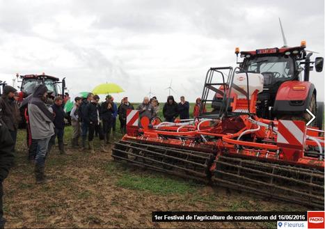 1er Festival de l'agriculture de conservation 16/06/2016 à Fleurus (Belgique)   AC Agriculture de Conservation   Scoop.it