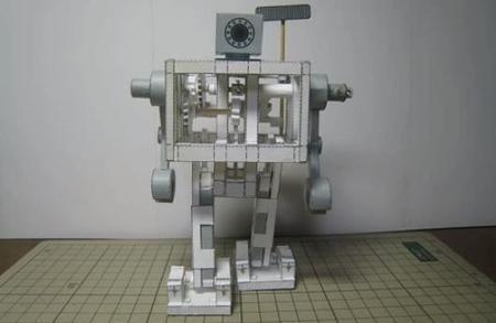 MPM, el robot hecho de piezas de papel | Blog ingeniería | Ciencia Y Tecnología | Scoop.it