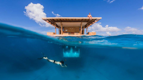 Underwater hotel room in Zanzibar lets you sleep with the fishes | Strange days indeed... | Scoop.it