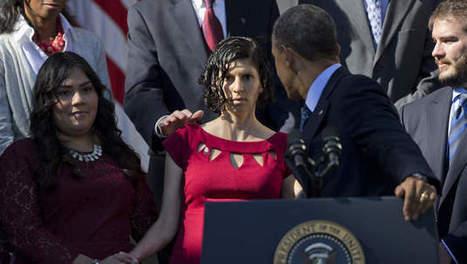 Elle fait un malaise pendant un discours d'Obama | frans ikram | Scoop.it