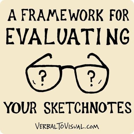 VTV 015 : A Framework For Evaluating Your Sketchnotes | doodling | Scoop.it