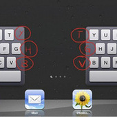 The iPad's Split Keyboard Has a Few Hidden Buttons that Make Typing Easier | AppHappy! | Scoop.it