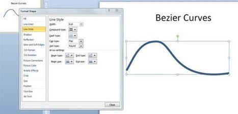 Drawing Bezier Curves in PowerPoint 2010 | PowerPoint Presentation | presentation11977 | Scoop.it
