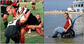 En fauteuil après une mauvaise blessure, Il lance un club de quad rugby à Toulon   News Rugby   Scoop.it