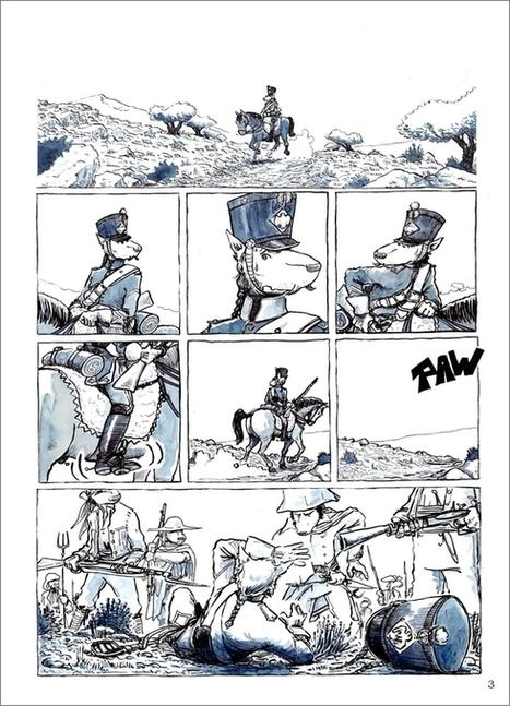 Napoléon en dessins | Romans régionaux BD Polars Histoire | Scoop.it