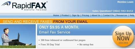Rapidfax International Fax – Best Online Fax Service | Free PC To Mobile Calls | Scoop.it