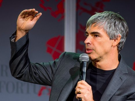 Larry Page wants to grow Alphabet to a scale never seen before | Business Studies | Scoop.it