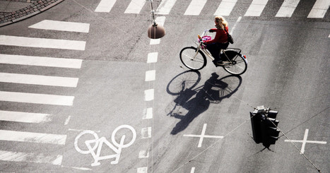 Copenhagen's New Traffic Lights Recognize and Favor Cyclists | Innovation | Scoop.it