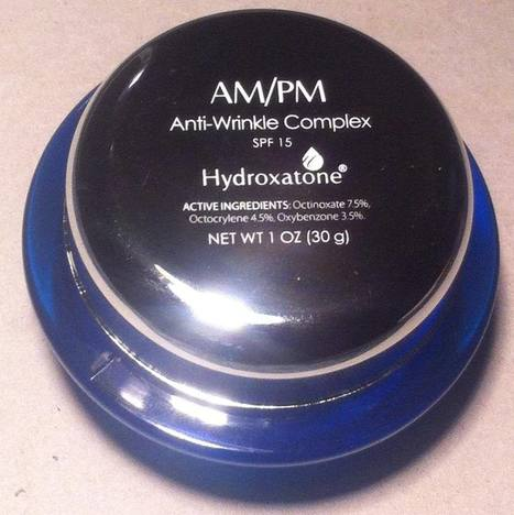 Hydroxatone® AM/PM Anti-Wrinkle Comple | Hydroxatone | Scoop.it