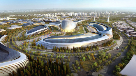 Kazakhstan: Earth's first city of the future is coming in 2017 and it looks awesome | Gizmodo.com | @The Convergence of ICT & Distributed Renewable Energy | Scoop.it