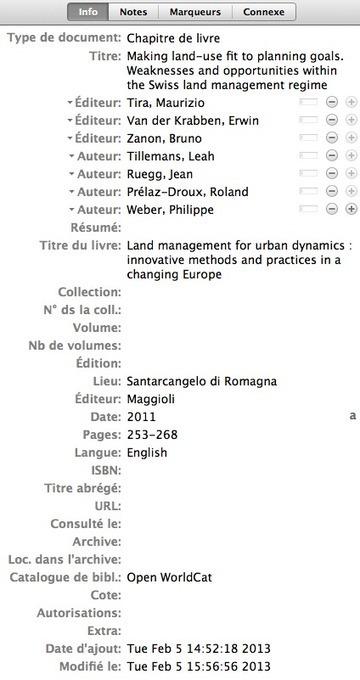 Enregistrer un chapitre d'ouvrage collectif dans Zotero | gestion chapitres ouvrages collectifs | Scoop.it