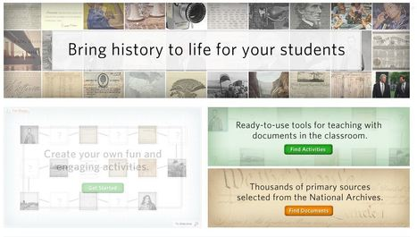 DocsTeach | K-12 Research, Resources and Professional Learning Materials for English Language Arts | Scoop.it