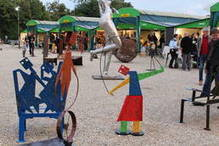 Yvelines : Ouverture du 14e grand marché d'art contemporain de Chatou - Info locale | Chatou | Scoop.it