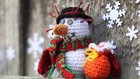 16 Cute Miniature Crochet Christmas Decorations | Blog Posts & Articles | Scoop.it