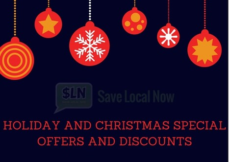 Holiday and Christmas Special Offers and Discounts   Discover the best Online Deals, Offers & Current Events Online in your Area   Scoop.it